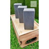 Cold Processed Soap CHARCOAL by Mellow & Co