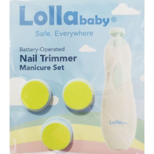 Nail Trimmer Baby Nail File Attachments (Green) *For 4-11 months*