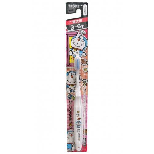 EBISU Doreamon Toothbrush White (3-6 years old)