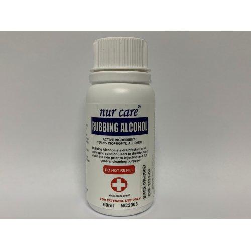 Nur Care Rubbing Alcohol 60ml