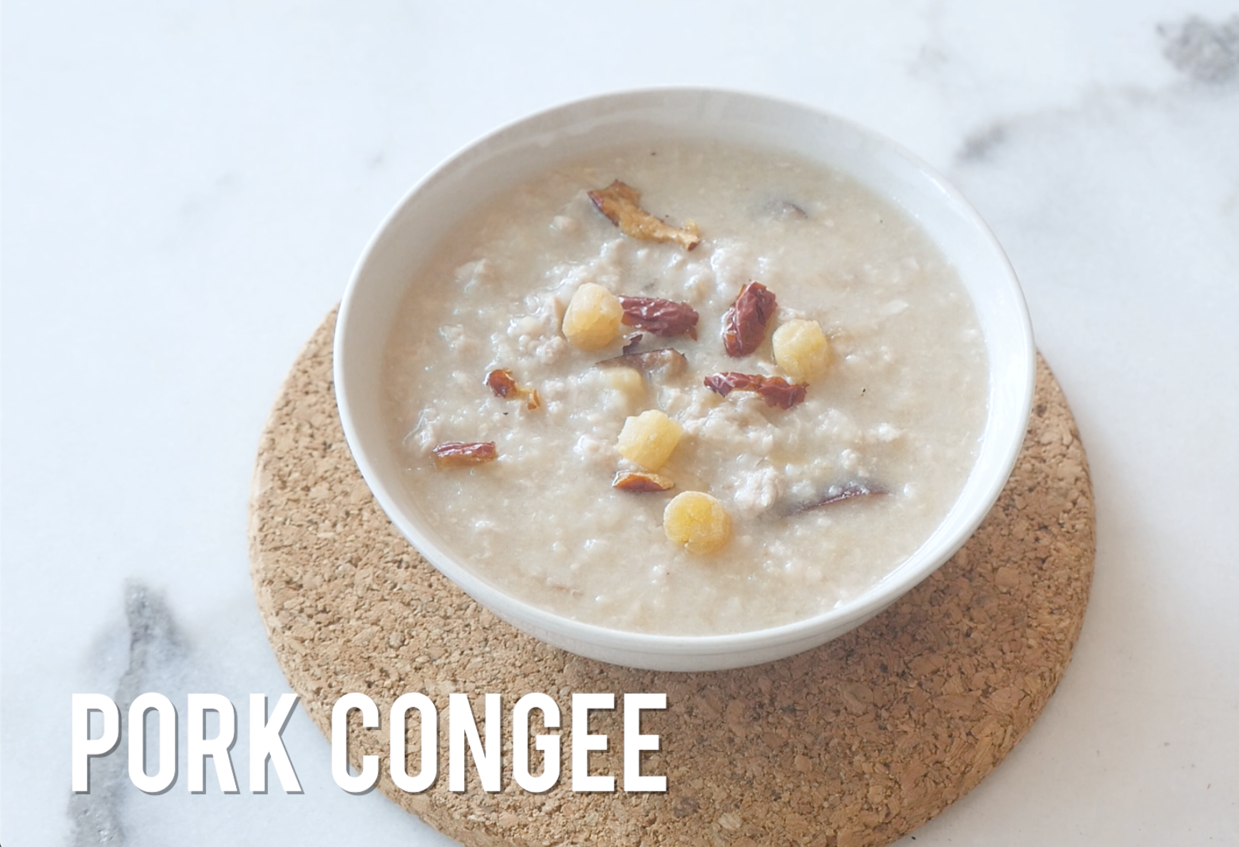Pork Congee | Healthy and Easy Recipes for Kids #HealthEssentialsCooks