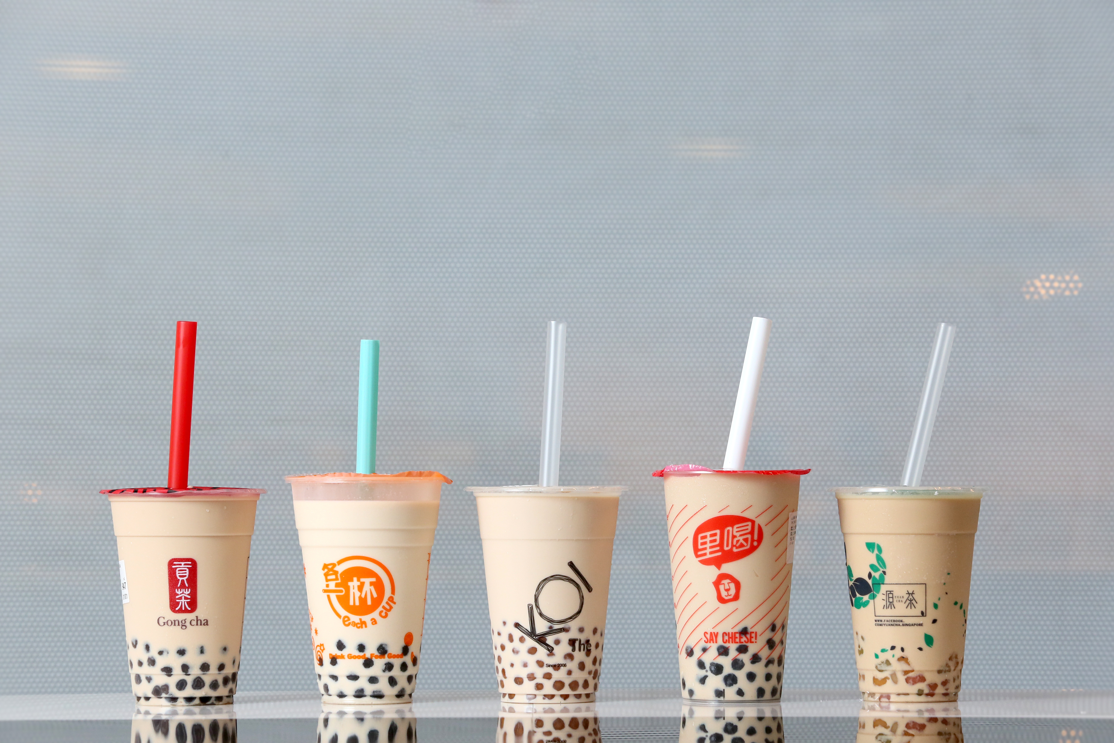 Effects of drinking bubble tea on the skin